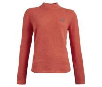 Pullover 'lourdes' orangerot