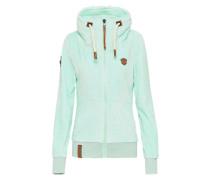 Female Zipped Jacket 'Monsterbumserin Mack IV' neonblau