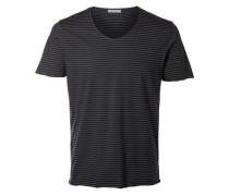 T-Shirt blau / grau