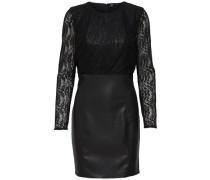 Kleid mit langen Ärmeln schwarz
