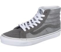 Sk8-Hi Slim Metallic Dots Sneaker Damen grau