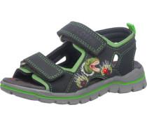 Sandalen Blinkies Weite M für Jungen Dinosaurier grau / hellgrün / dunkelgrün