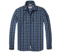 Hilfiger Denim Hemd »Thdm REG Indigo Check Shirt L/S 18«