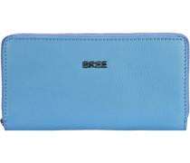 Nola 101 Geldbörse Leder 20 cm blau