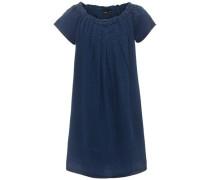 Jeanskleid nitalva kurzärmeliges blau