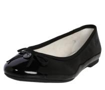 Ballerina mit Schleife schwarz