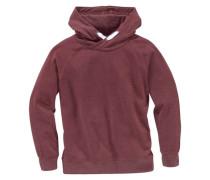 Kapuzensweatshirt für Jungen bordeaux