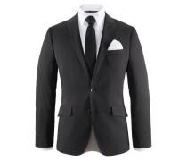 Anzug 4-teilig (Set 4 tlg. mit Krawatte und Einstecktuch) schwarz