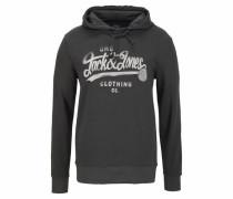 Kapuzensweatshirt 'Jormood Sweat Hood' dunkelgrau