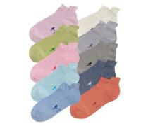 Sneakersocken (10 Paar) mischfarben