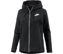 Sweatjacke 'Advanced' schwarz