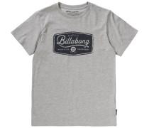 T-Shirt 'pitstop' grau