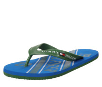 Zehentrenner blau / grün