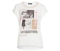 Frontprint-Shirt weiß
