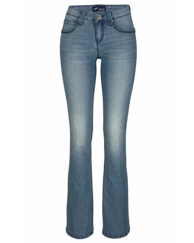 Bootcut-Jeans 'Shaping' blue denim