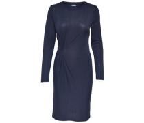 Langärmeliges Kleid nachtblau
