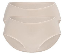 Pant 'shiny Micro' 2er Pack nude