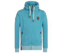 Male Zipped Jacket Muzzy Spitzbubi blau