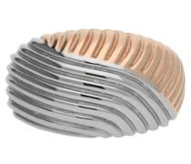 Fingerring Edelstahl Silber Waves Jprg10609A gold / silber