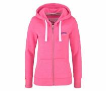 Kapuzensweatjacke »Orange Label Primary Ziphood« pink / weiß