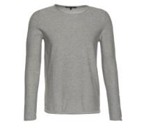 Pullover in Inside-Out-Optik 'Rik' grau