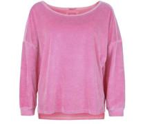 Sweatshirt Sweat Velvet pink