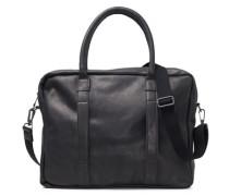 Tasche Leder- schwarz