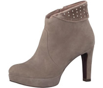 High-Heel-Stiefelette 'heart & Sole' taupe
