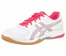 Volleyballschuh 'gel-Rocket 8 W' pink / silber / weiß
