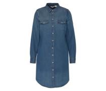 'LS Iconic Western' Hemdkleid blau