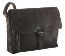 Messenger Bag aus Leder braun