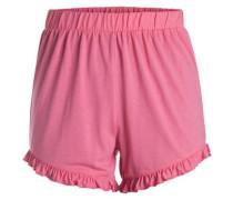 Rüschen-Shorts pink