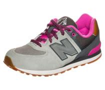 Sneaker grau / pink