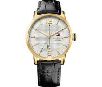 Armbanduhr »Casual Sport 1791218« schwarz