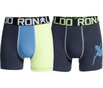 Boxer Boys Trunk 2er Pack blau / gelb