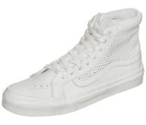 'Sk8-Hi Slim Cutout' Sneaker Damen weiß