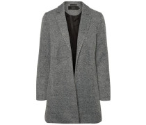 Lange feminine Jacke grau