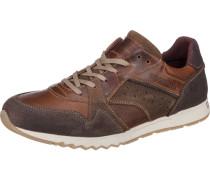 Sneakers braun / weiß