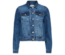 Klassische Jeansjacke blue denim