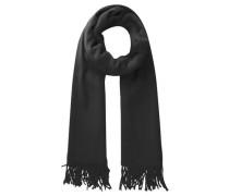 Woll-Schal schwarz