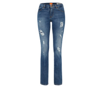 Regular Jeans 'Orange J30' im Used-Look