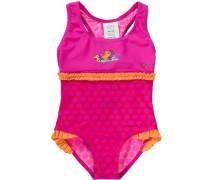 Badeanzug mit UV Schutz 'maus' pink