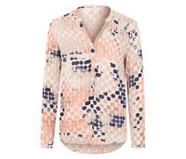 Leichte Tunika-Bluse pink