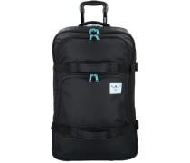 'Urban Solid' 2-Rollen Reisetasche 71 cm schwarz