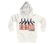 "Kapuzen-Sweatshirt ""Beatles - Abbey Road"" weiß"