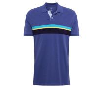 Poloshirt blau