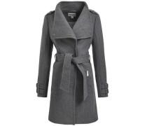 Mantel 'davida' grau / graumeliert