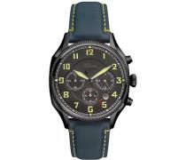 Chronograph 'so-3181-Lc' nachtblau / gelb / schwarz / weiß