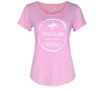 T-Shirt 'CO Slub Island' pink