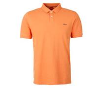 Poloshirt aus Baumwoll-Piqué orange